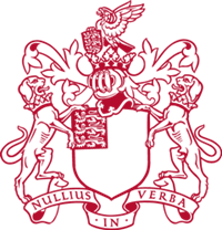 Crest of the Royal Society.